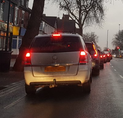 driving in a Cycle Lane